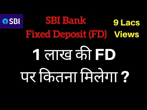 SBI Fixed Deposit Scheme | FD | Fixed Deposit Interest Rates 2018 | FD Calculator