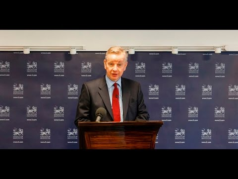 What Does a One Nation Justice System Look Like? With Secretary of State for Justice, Michael Gove