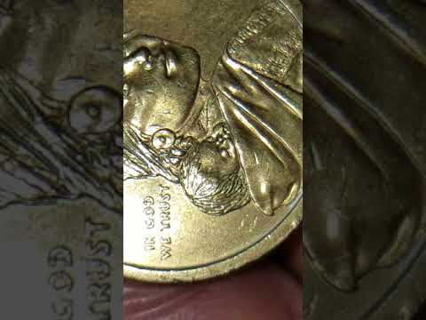 2010 P SACAGAWEA US DOLLAR COIN WITH A NICE DIE MINT ERROR ON NECK