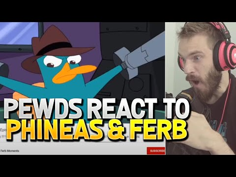 PewDiePie Reacts To Phineas And Ferb Episode 1 On Live Stream #2