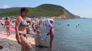 видео п. Сукко отдых на море.