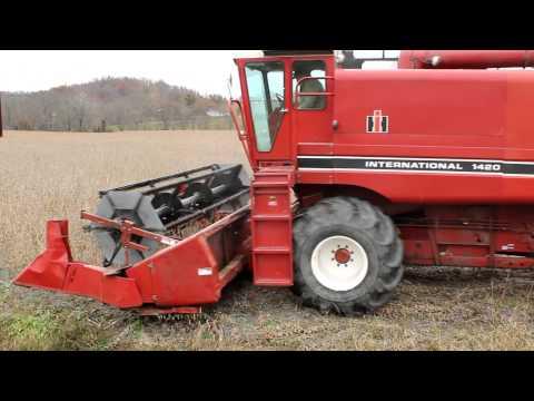 combine SoyBean Harvest 2012