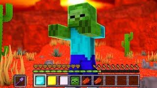 ИГРАЮ ЗА ЗОМБИ В МАЙНКРАФТ - БИТВА МОБОВ В Minecraft #2