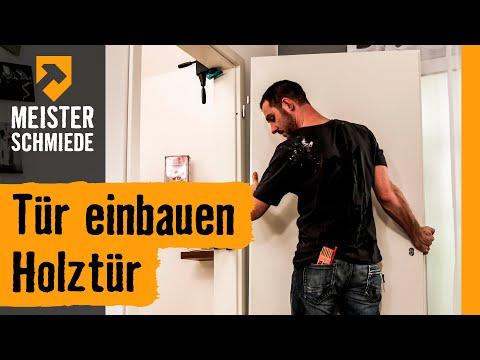 Tür Einbauen: Holztür   HORNBACH Meisterschmiede