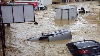 Дома смывало заживо, скалы обваливались, дороги затоплены. Дожди затопили Дагестан