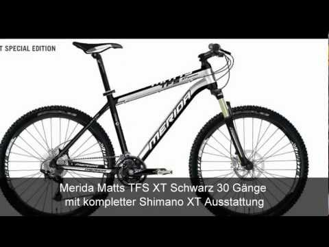 Mountainbike Merida Matts TFS XT Shimano XT 30 Gänge