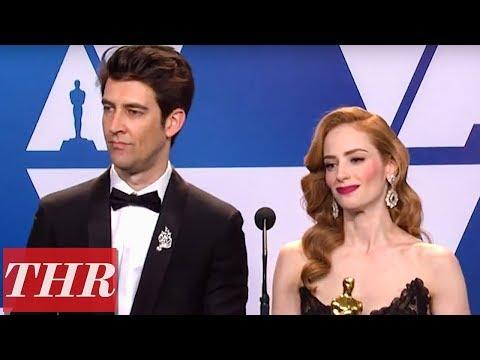 Oscar Winners For 'Skin' Full Press Room Speeches | THR