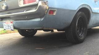 1970 Ford Maverick 6cyl with Flowmaster Exhaust