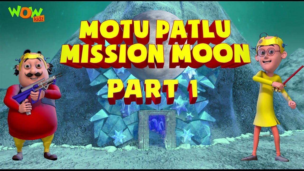 Motu Patlu Mission Moon Movie Part 1 Movie Mania 1 Movie