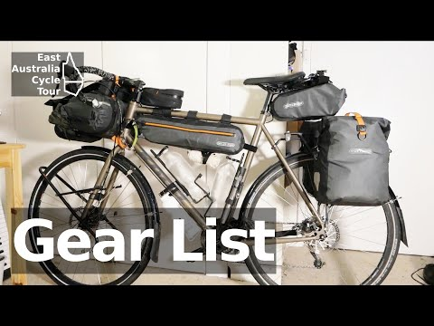 East Australia Cycle Tour: Gear List