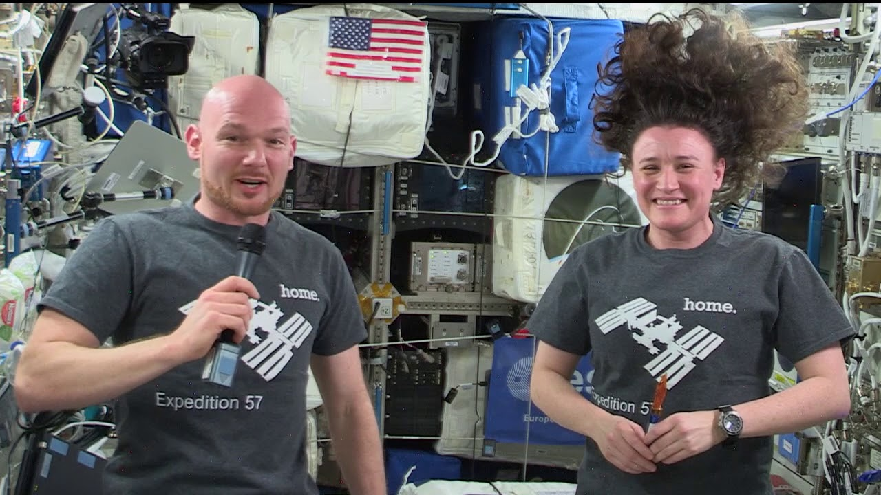 Happy Thanksgiving From the International Space Station - Buy American