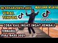 Dj Seharusnya Aku  Tiktok Maulana Wijaya Coba Kau Ingat Ingat Kembali Remix Full Bass  Mp3 - Mp4 Download