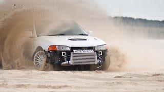 Subaru Beach Slow Motion