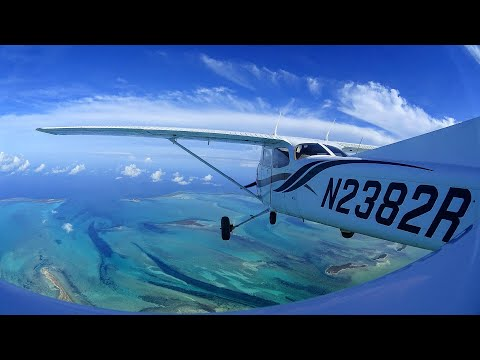 Flying C172 to Bahamas for island hopping 2016
