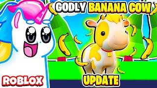 HOW TO GET THE NEW *GODLY BANANA COW* IN OVERLOOK BAY! Roblox Overlook Bay Update