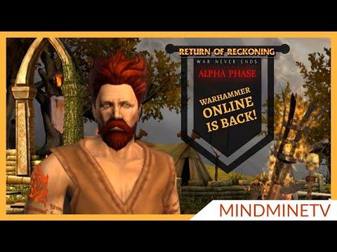IT'S BACK! Warhammer Online - Age Of Reckoning | RvR PvP PvE MMORPG | MindMineTV