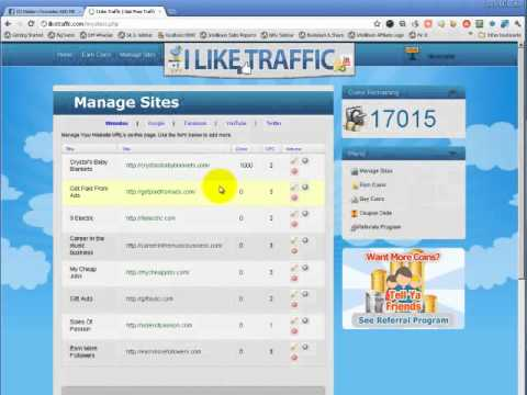 how to get traffic on website for free