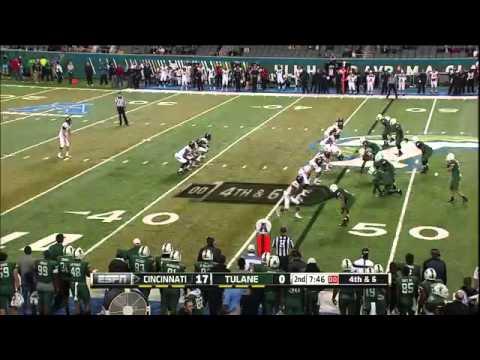 Cincinnati Bearcats vs Tulane Green Wave  -  October 31, 2014