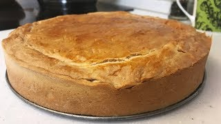Капустный пирог / Вкусный пирог с капустой на кефире