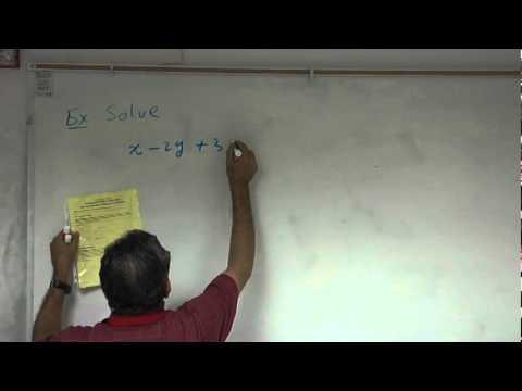 "LBCC - The MATH Success Center Presents: ""Solving Linear Equations w/ 3 Variables"""