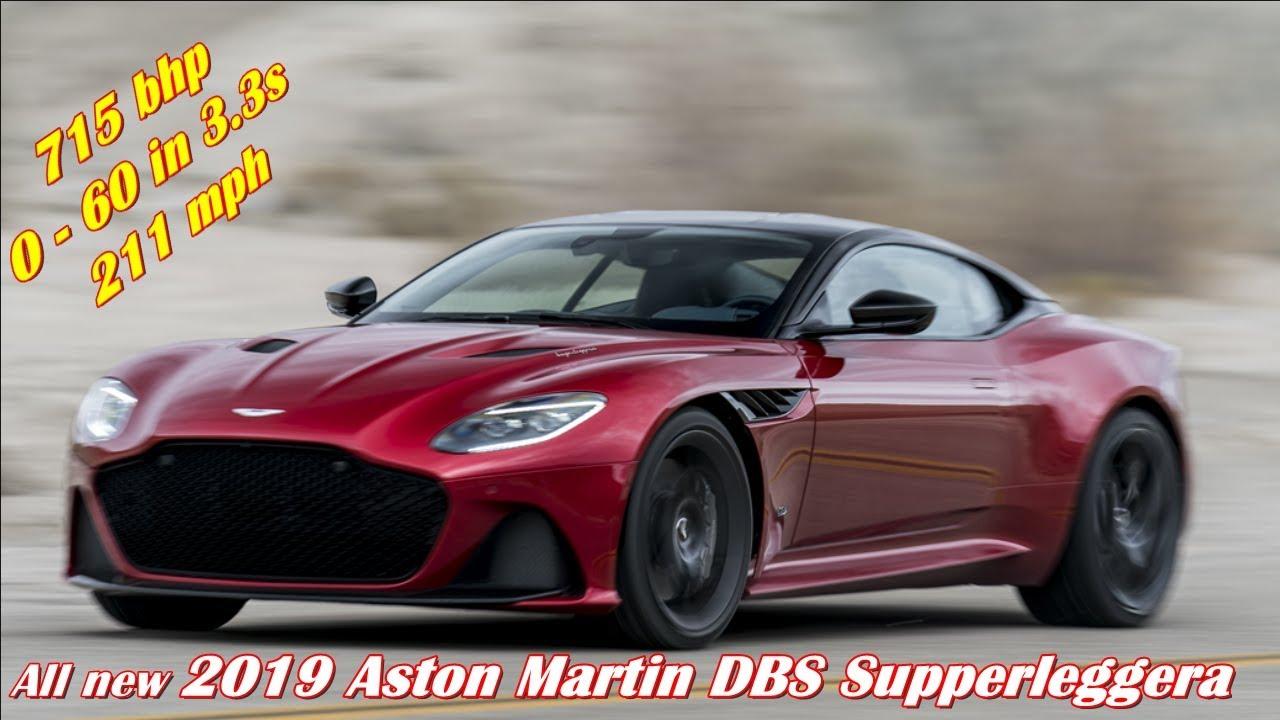 2019 Aston Martin Dbs Superleggera 715 Bhp 211mph 304 995 Youtube