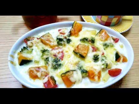 料理レシピマカロニグラタンの作り方♪