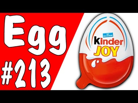 Kinder Joy Surprise Egg - Unbox Number #213