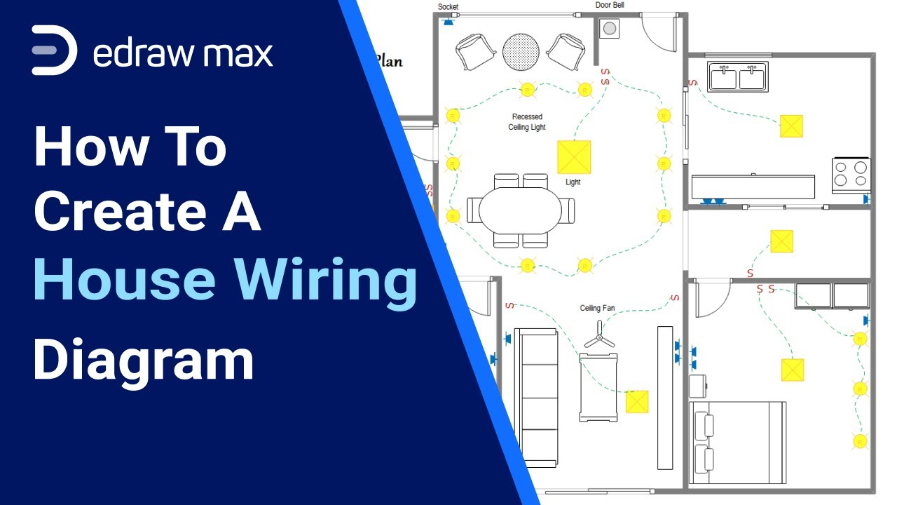 How to Create a House Wiring Diagram   Complete House Wiring Diagram Guide    EdrawMax