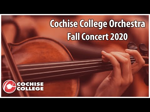 Cochise College Orchestra Fall Concert 2020