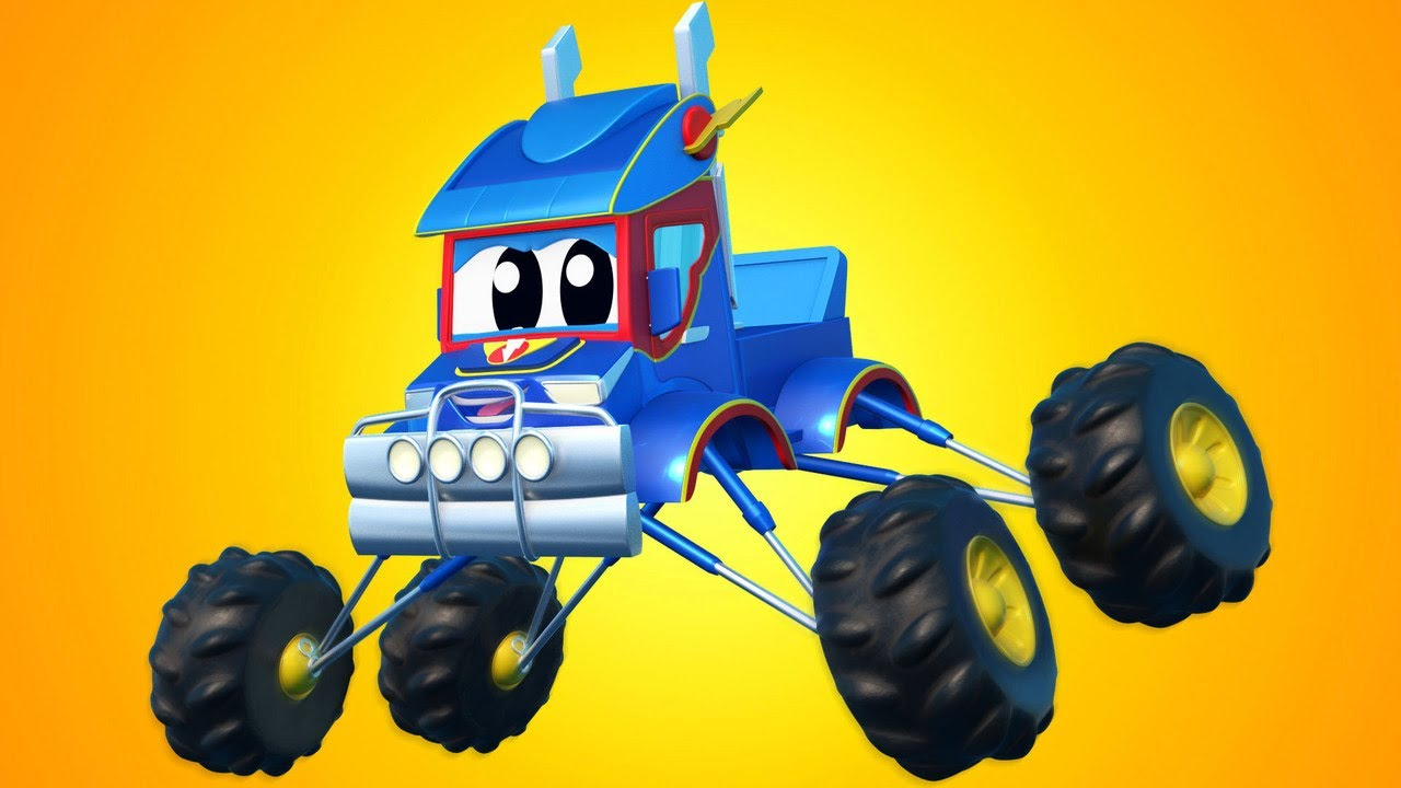Super Stunt MONSTER TRUCKS!  | Super Truck | Car City World App