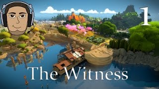 Let's Play - The Witness - Part 1: BEST PUZZLE GAME EVER?!?