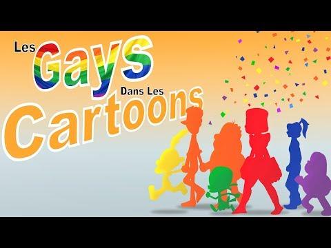 gays in the cartoon - aLlan RyO