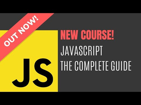 Join Now! JavaScript - The Complete Guide