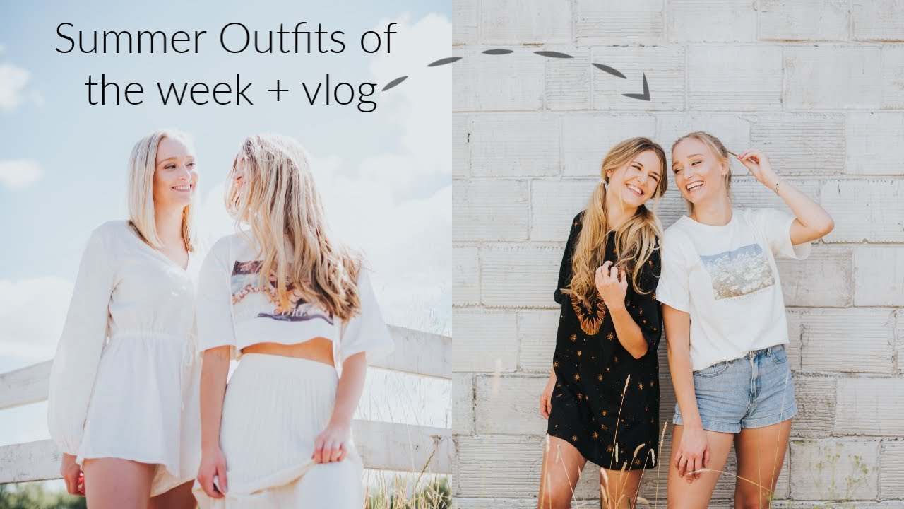 VLOG: Summer Outfits of the week + car shopping & MORE
