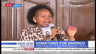 Baringo County Women Rep. flags of food consignment, county has been hit by ravaging drought
