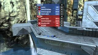 Halo Reach :::Violnce in arena slayer pro on The Cage:::::