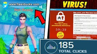I put a VIRUS LINK in my Fortnite Name and this many clicked.. (Fortnite Battle Royale)
