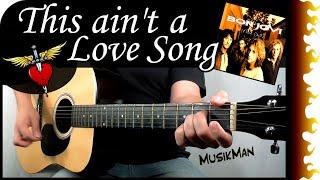 MusikMan Bon Jovi Guitar Cover Lyrics Chords Guitar Lesson : https:...
