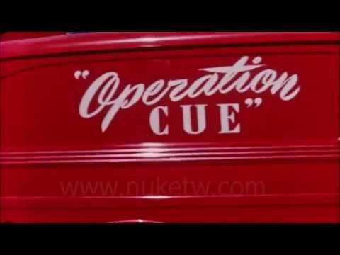HD 原子彈爆炸 民防試驗 線索行動 operation Cue 1955