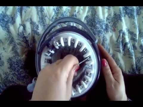 Tuto vid o comment terminer un ouvrage au tricotin semi - Comment terminer un tricotin ...