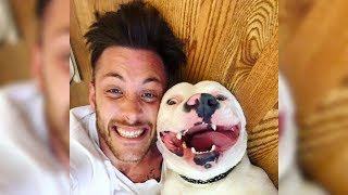 Days After This Guy Posted A Selfie With His Dog, Police Arrived To Take Him Away