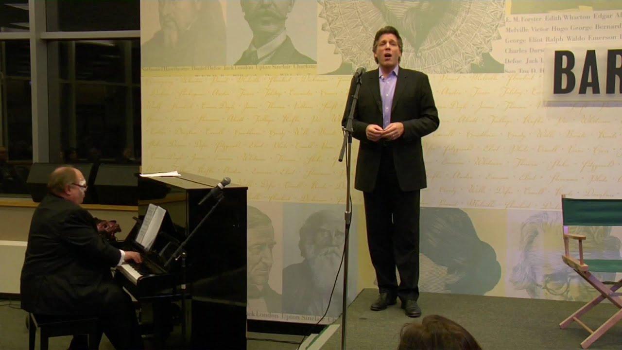 "Thomas Hampson performs ""Sure on this Shining Night"""