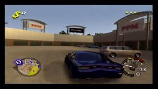 L.A Rush Ps2 Gameplay