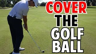 How to Cover the Golf Ball