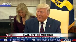 OVAL OFFICE: President Trump FULL Meeting With Italian President