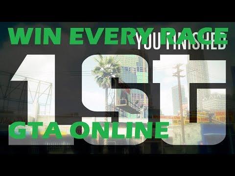 HOW TO WIN EVERY RACE GTA ONLINE GTA 5