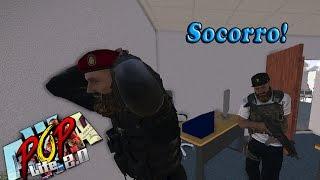 Aviso trampa al banco, nos secuestran! - Arma 3 Pop life 2.0