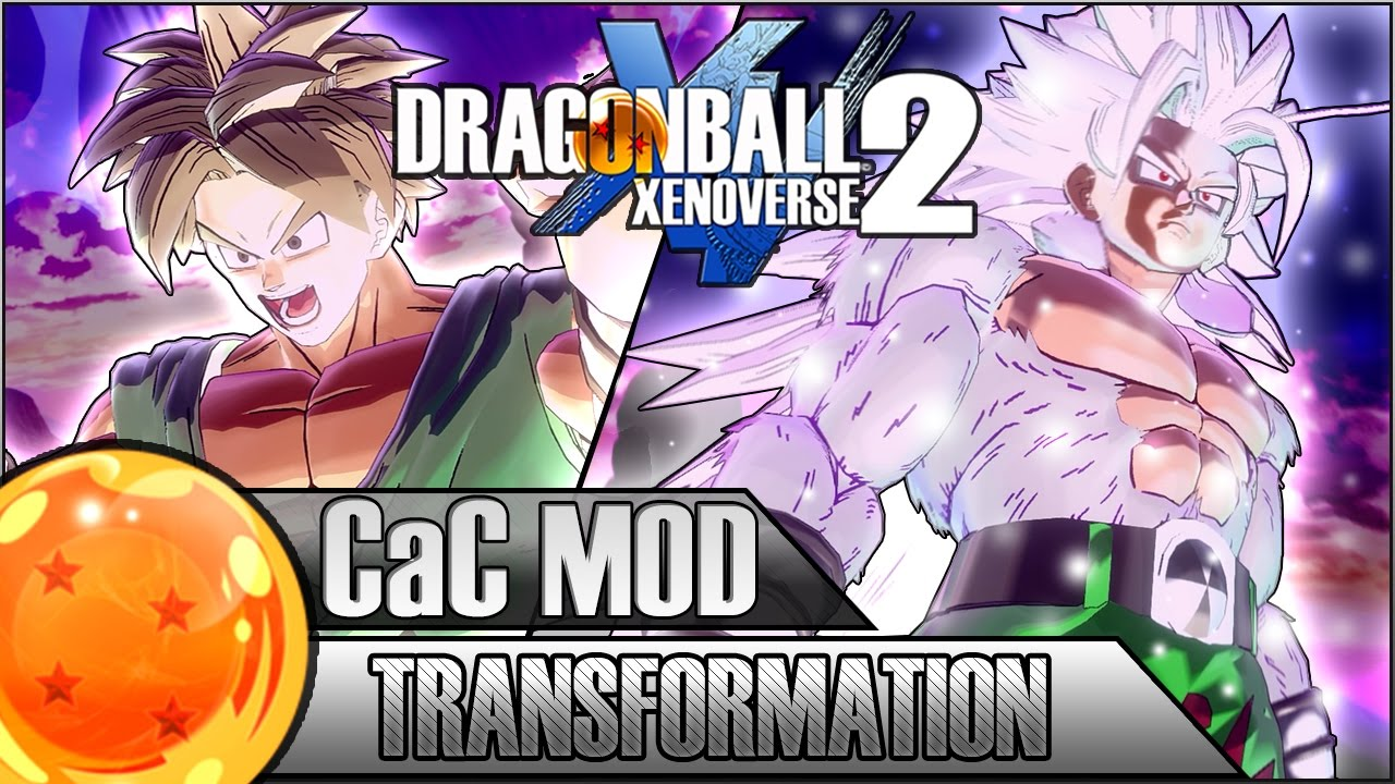 SUPER SAIYAN 5 CAC TRANSFORMATION | Dragon Ball Xenoverse 2 MOD