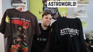 TRAVIS SCOTT ASTROWORLD MERCH UNBOXING!!!