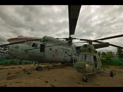 Брошенные самолеты и вертолеты заброшенный аэродром - YouTube